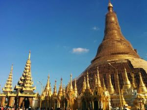 Burma - Yangon -Shwedagon Paya