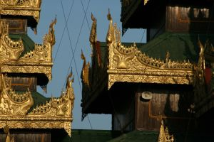 Burma - Yangon - Shwedagon Paya