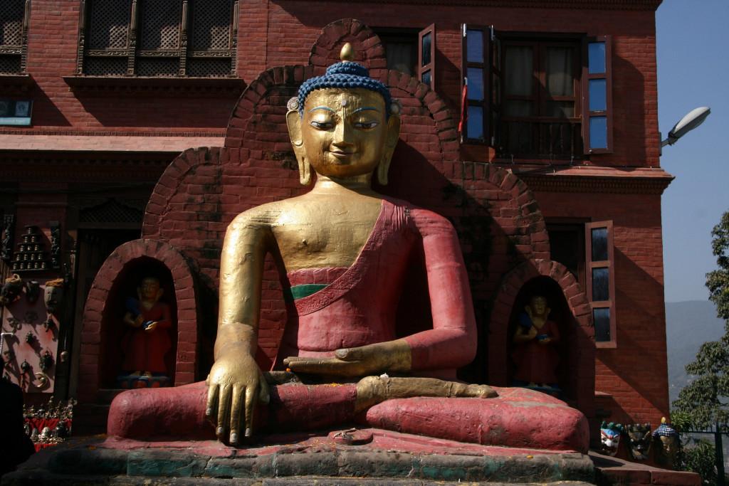 """Swayambhunath or """"Monkey Temple"""""""