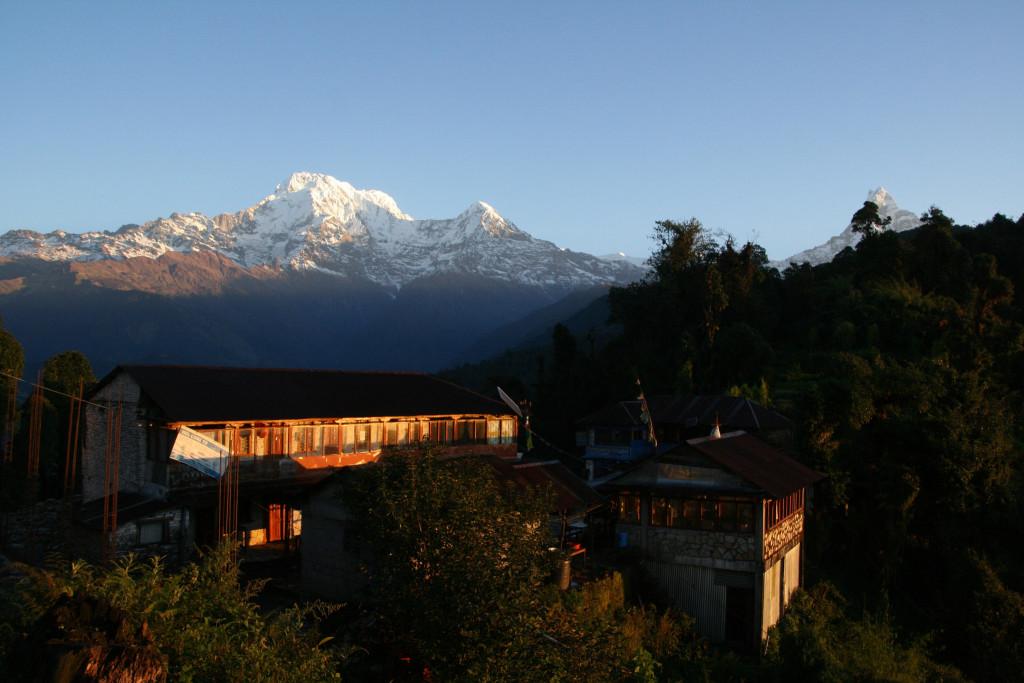 Deurali, Annapurna trek