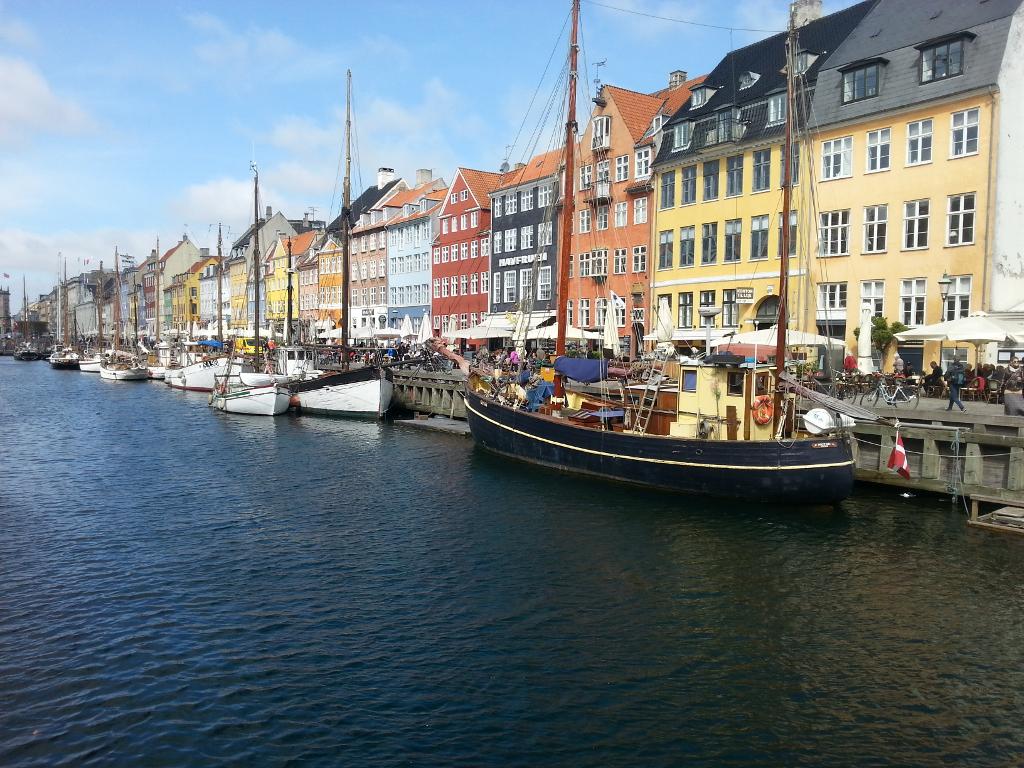 Nyhavn (new harbor) - Copenhagen, Denmark