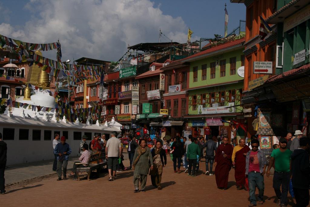 Khatmandu - Tibetan area